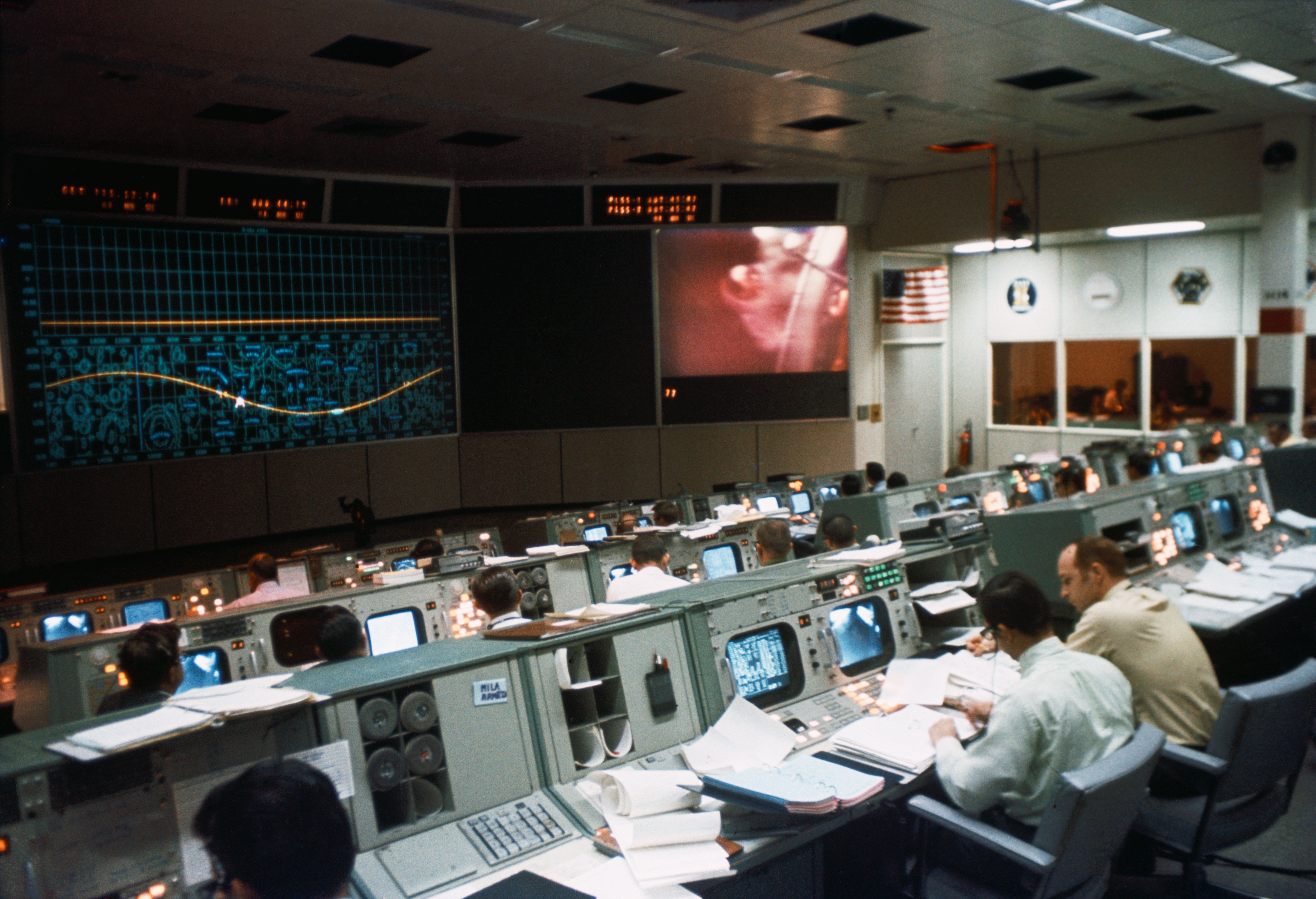 Nasa Control Room 1960s - Pics about space
